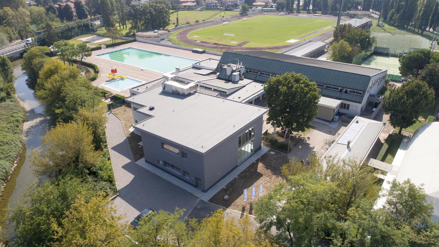Impianto natatorio di Melzo (MI)
